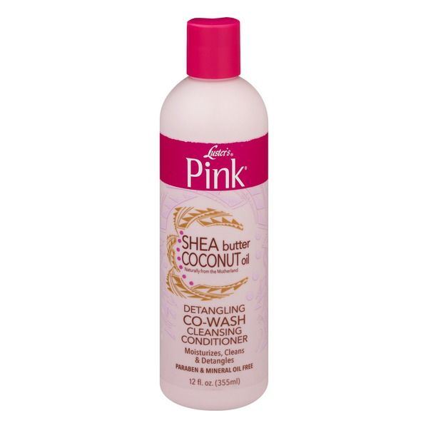 Luster's Pink Shea Butter Coconut Oil Detangling Co-Wash Cleansing Conditioner - 12oz