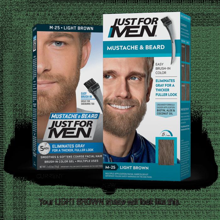 Just For Men Moustache & Beard Color - Light Brown