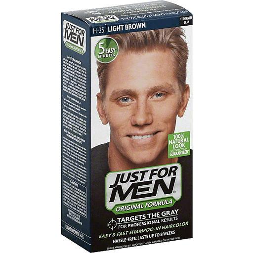 Just For Men Original Formula Men's Hair Color - Light Brown