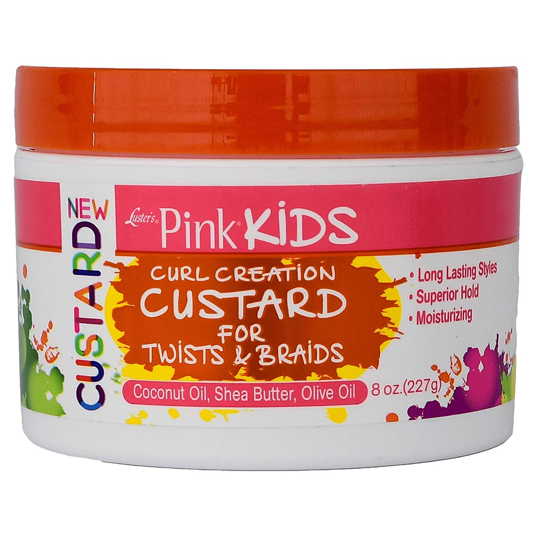 Luster's Pink Kids Curl Creation Custard For Twists & Braids - 227g