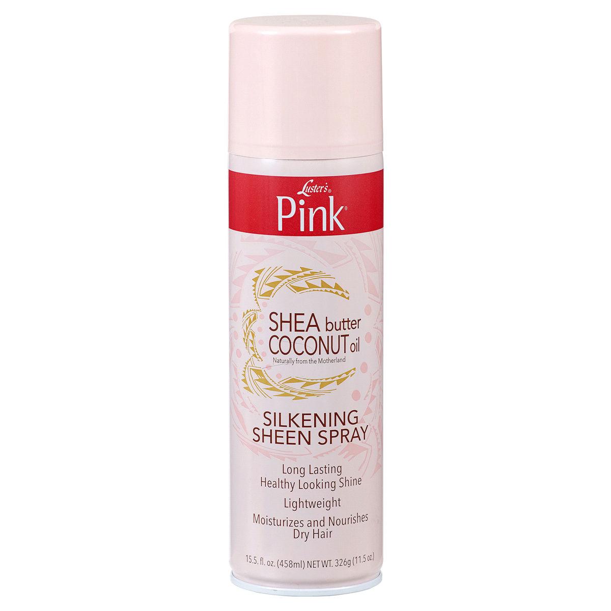 Luster's Pink Shea Butter Coconut Oil Silkening Sheen Spray - 15.5oz