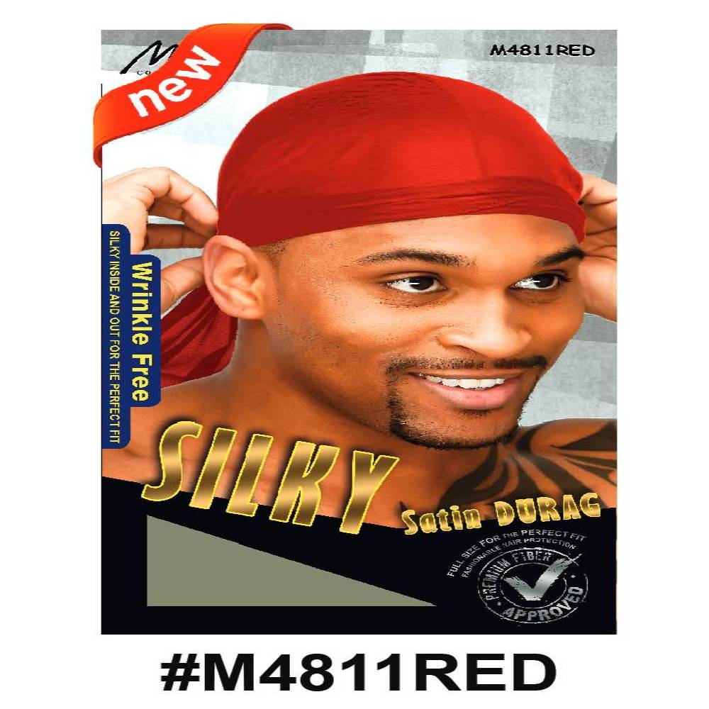 Murry Silky Durag Red - M4811red