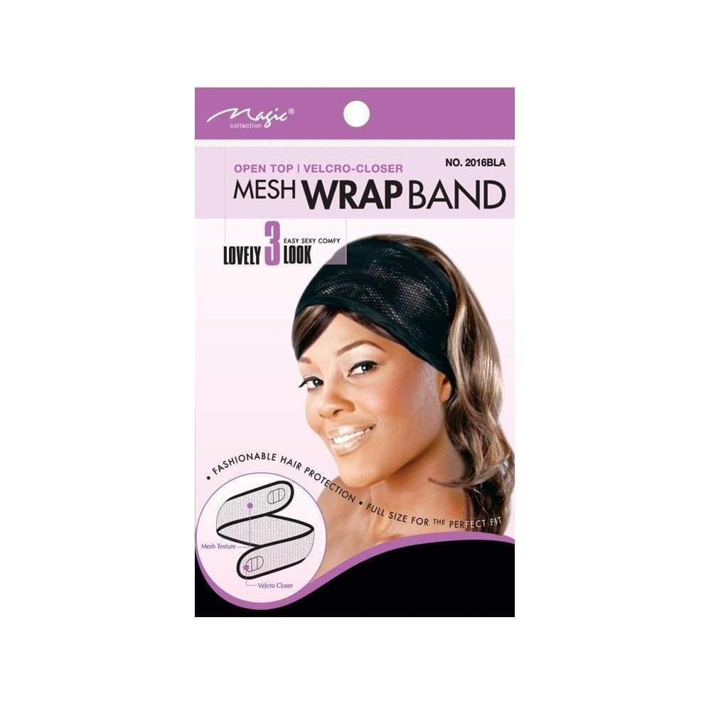 Magic Collection Women's Mesh Wrap Band - 2016Bla