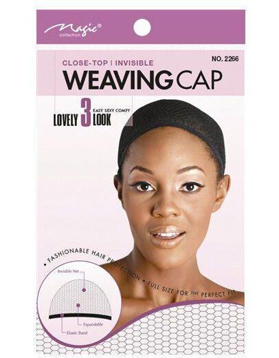 Magic Collection Women's Weaving Cap Black - 2266