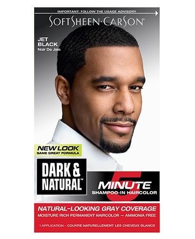 Magic Dark & Natural Permanent Men's Hair Color - Jet Black