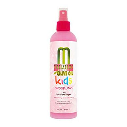 Mazuri Kids Snookums 3 In 1 Spray Detangler - 12oz
