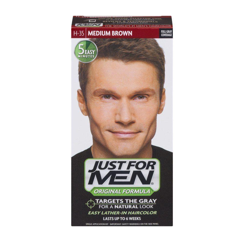 Just For Men Original Formula Men's Hair Color - Medium Brown