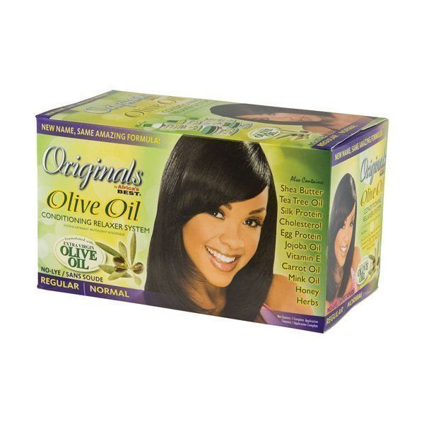 Original Africa's Best Olive Oil Conditioning Relaxer System - Regular