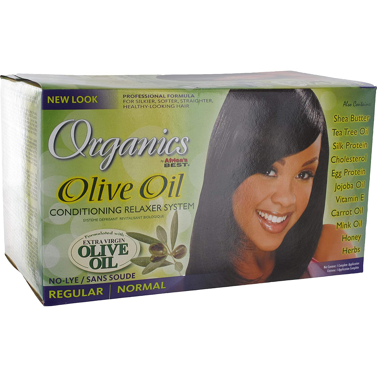 Original Africa's Best Olive Oil Conditioning Relaxer System - Super