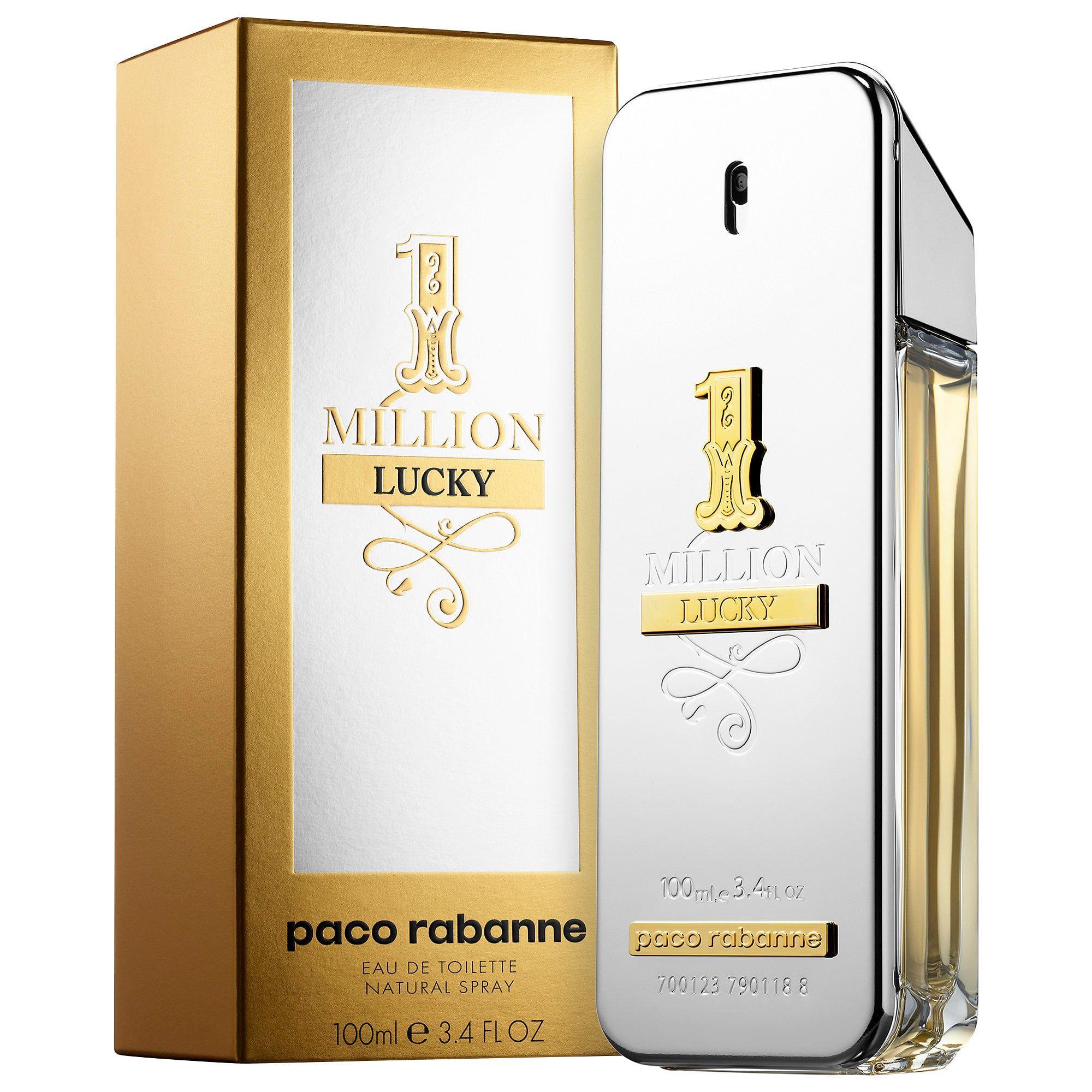 Paco Rabanne 1 Million Lucky Eau De Toilette Spray - 100ml