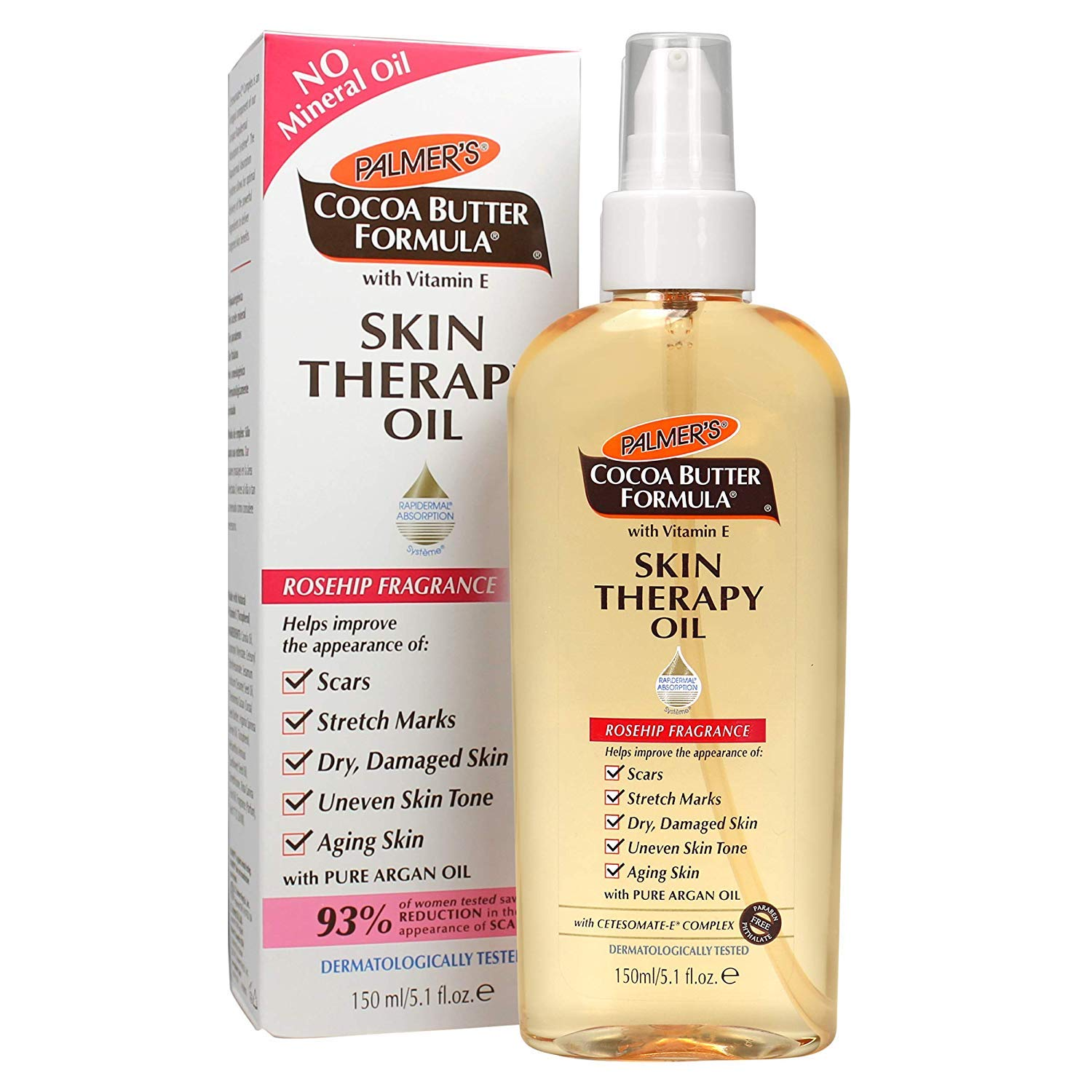 Palmer's Cocoa Butter Skin Therapy Oil Rosehip - 150ml