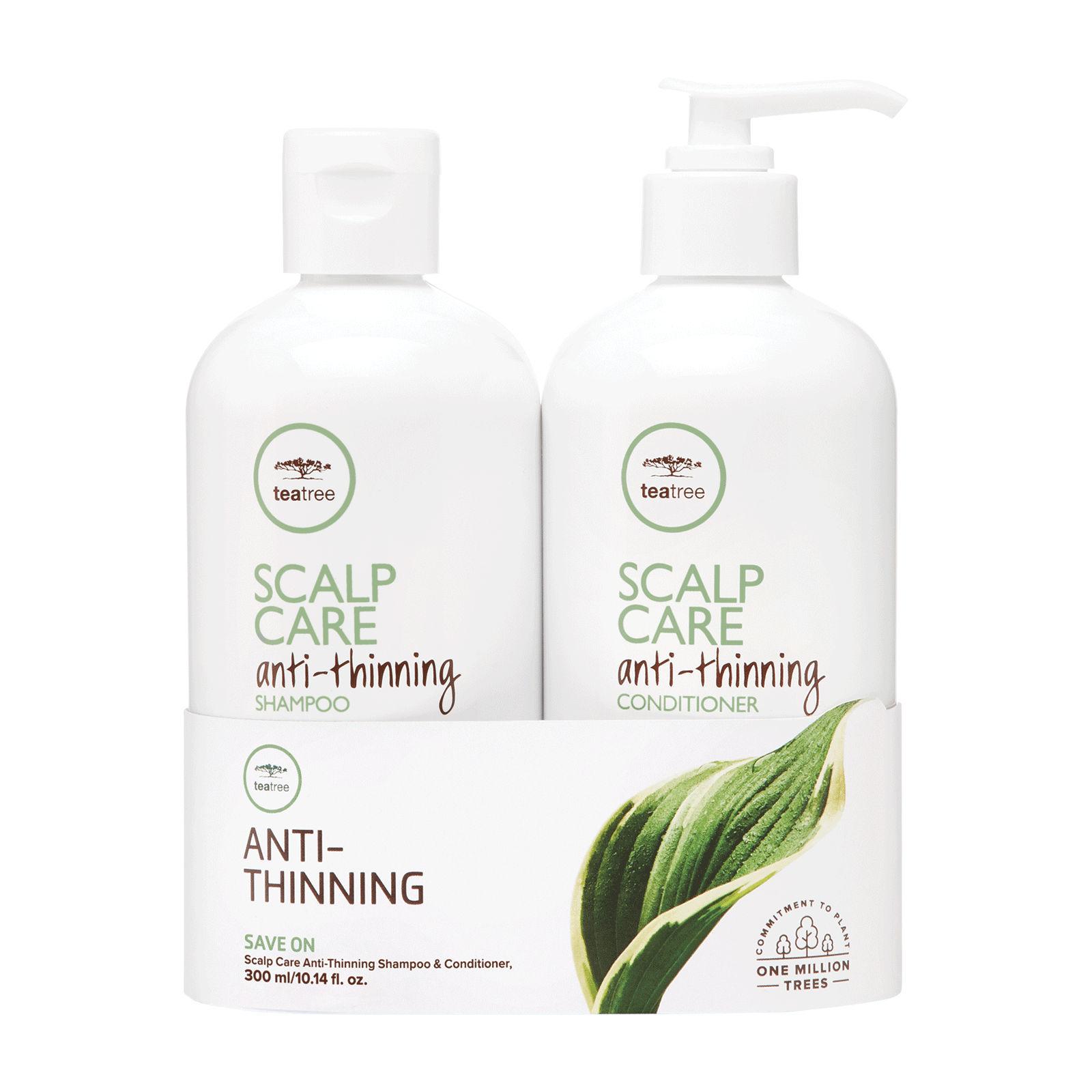 Paul Mitchell Tea Tree Scalp Care Anti Thinning Shampoo & Conditioner - 300ml