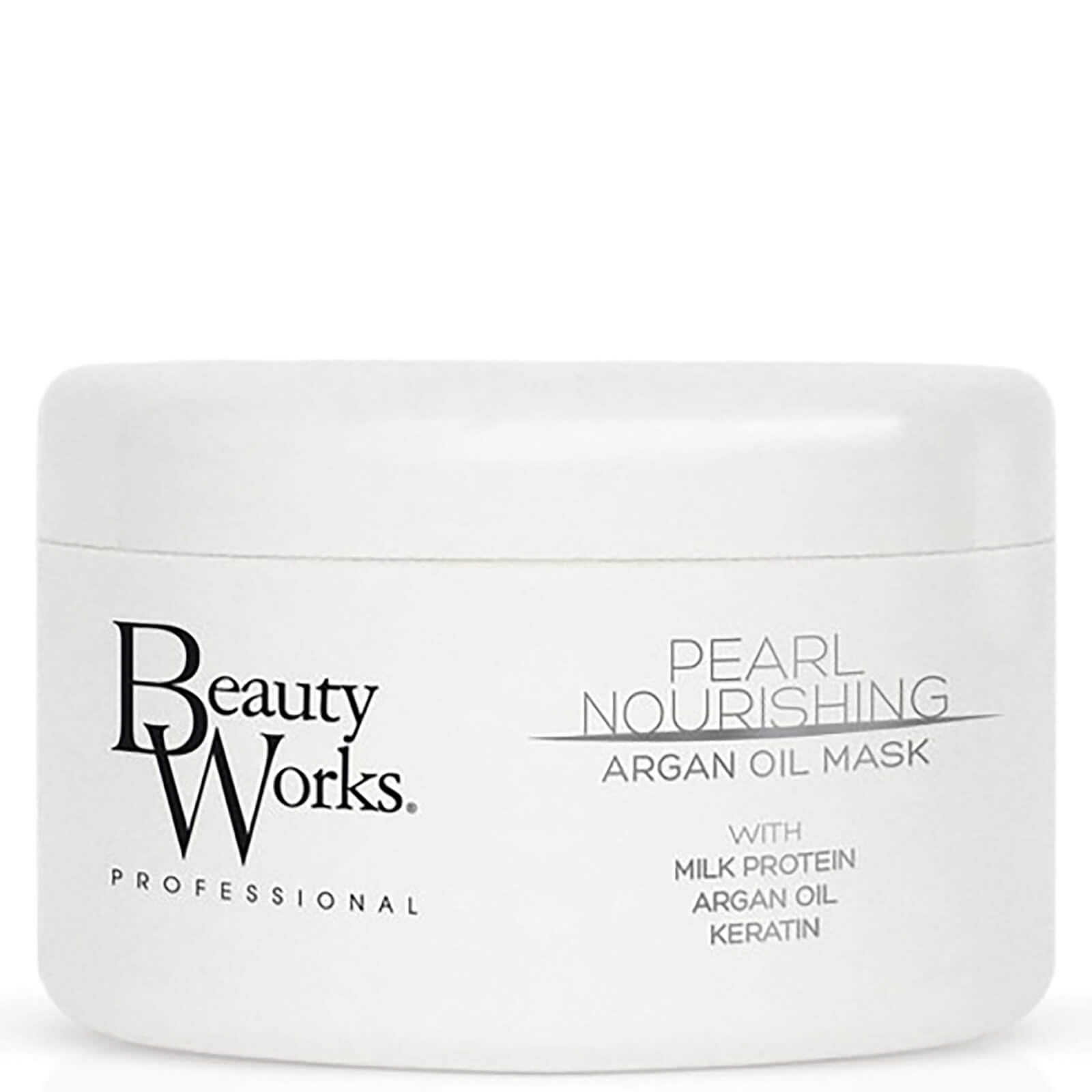 Beauty Works Pearl Nourishing Argan Oil Mask - 250ml