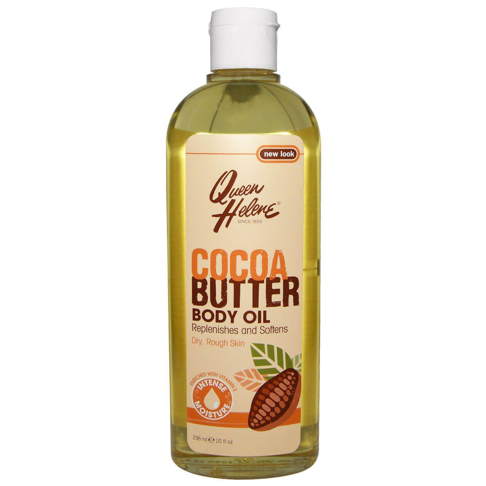 Queen Helene Cocoa Butter Moisturising Body Oil - 10oz