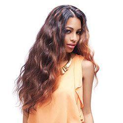 "Sleek Fashion Idol 101 Rio Natural Weave - Natural Black,14"""
