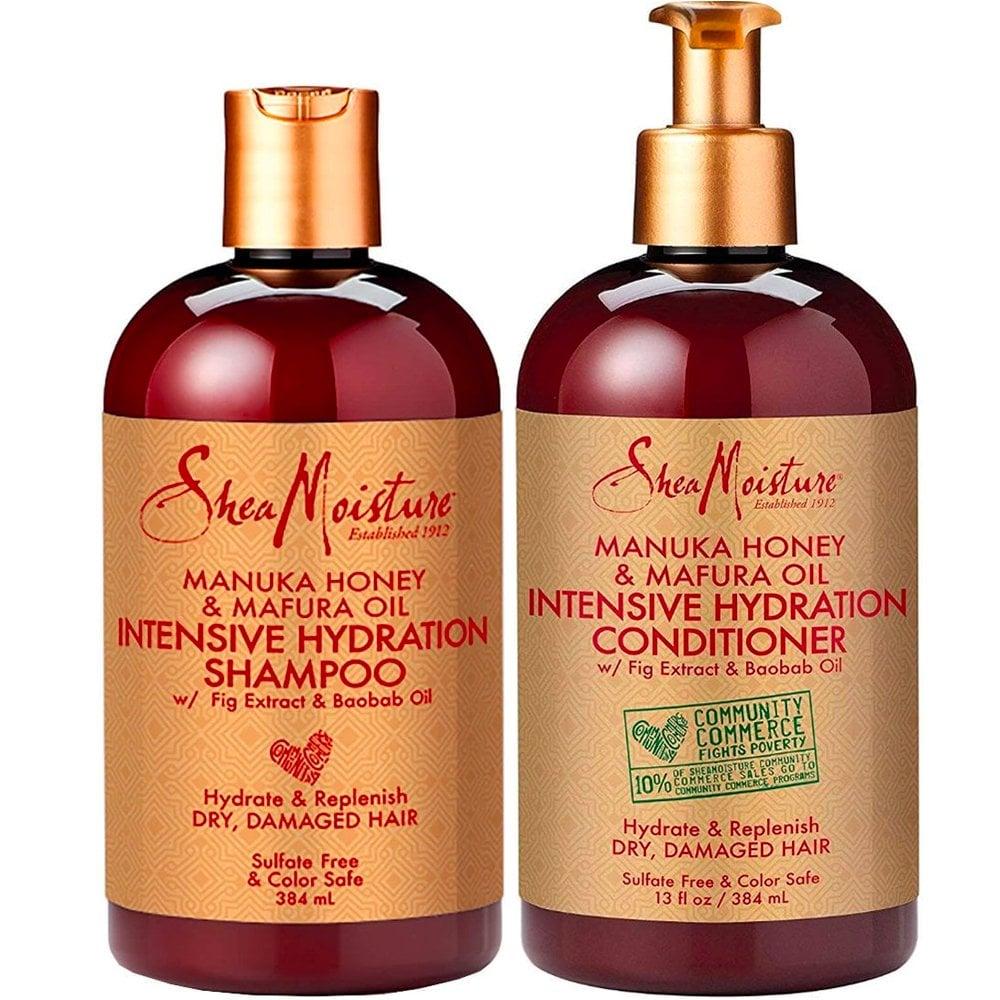Shea Moisture Manuka Honey & Mafura Oil Intensive Hydration Shampoo & Conditioner Duo Pack - 13oz