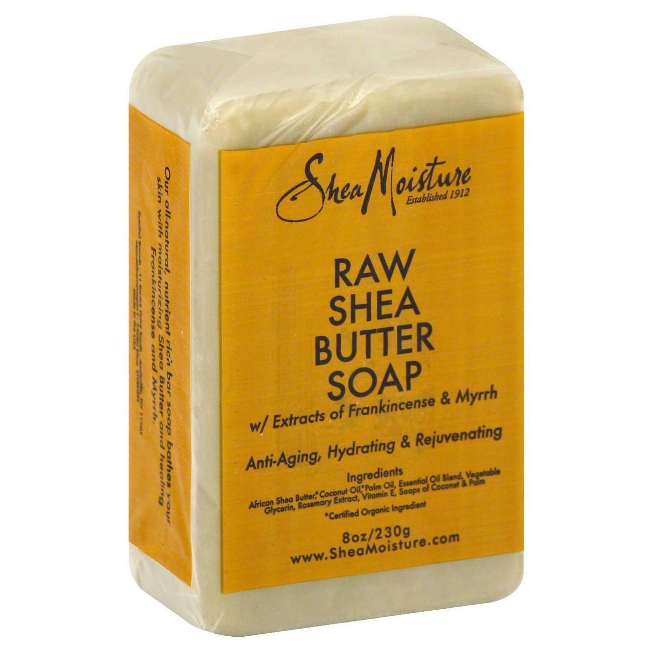 Shea Moisture Raw Shea Butter Soap - 8oz