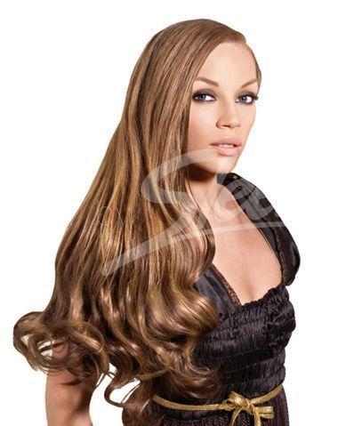 "Sleek Style Icon 100% Remy Human Hair - Natural Black,12"""