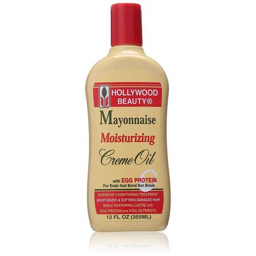 Hollywood Beauty Mayonnaise Moisturizing Creme Oil - 12oz
