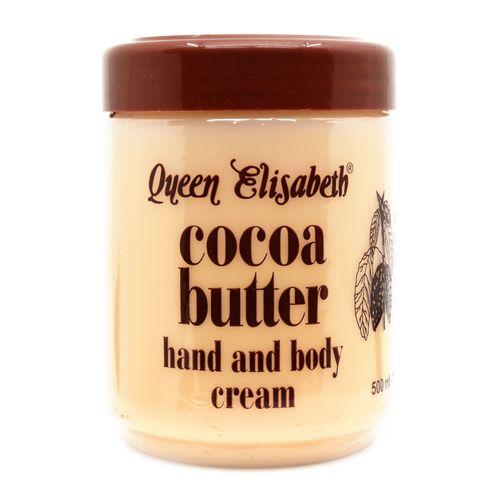 Queen Elisabeth Cocoa Butter Hand & Body Cream - 500ml