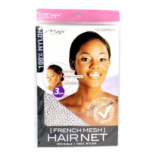 Magic Collection Women's French Hair Net - 2231bla