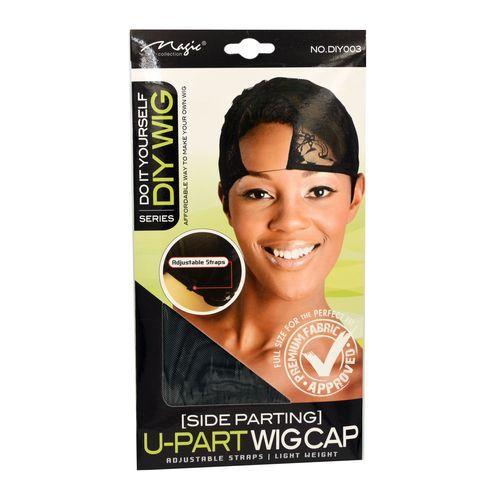Magic Collection Women's U Part Wig Cap - Side Parting - Diy003