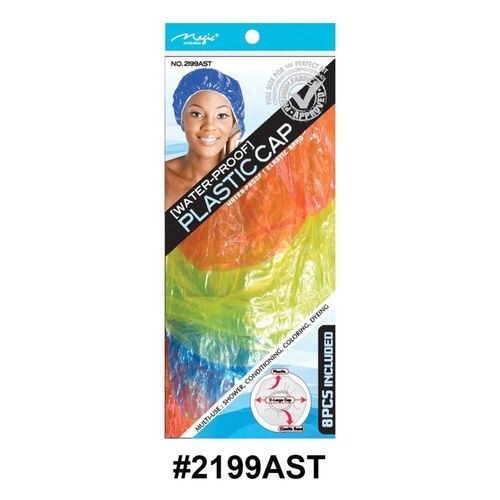 Magic Collection Women's Shower Cap 2199ast - Assorted Colors