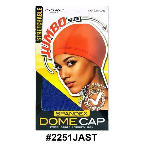 Magic Collection Women's Stretchable Dome Cap Jambo 2251jast - Assorted Colors