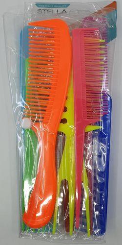 Magic Collection 10 Pcs Comb Set Assorted - 24260ast