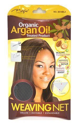 Magic Collection Women's Organic Argan Oil Treated Weaving Net - 3014bla