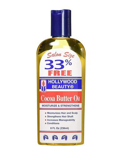 Hollywood Beauty Cocoa Butter Oil - 8oz