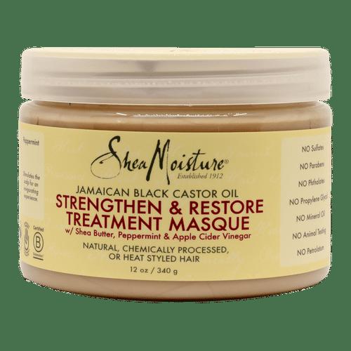 Shea Moisture Jamaican Black Castor Oil Strengthen & Restore Treatment Masque - 12oz