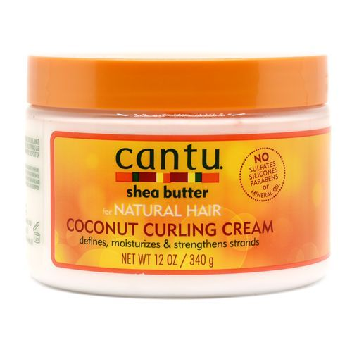 Cantu Shea Butter Coconut Curling Cream For Natural Hair - 340g
