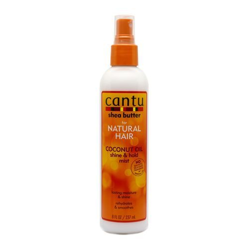 Cantu Shea Butter Coconut Oil Shine & Hold Mist For Natural Hair - 237ml