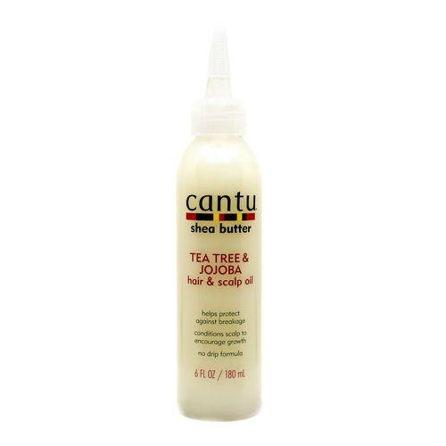 Cantu Shea Butter Tea Tree & Jojoba Hair & Scalp Oil - 180ml
