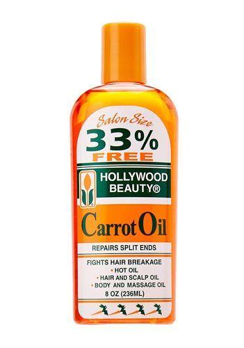 Hollywood Beauty Carrot Oil - 8oz