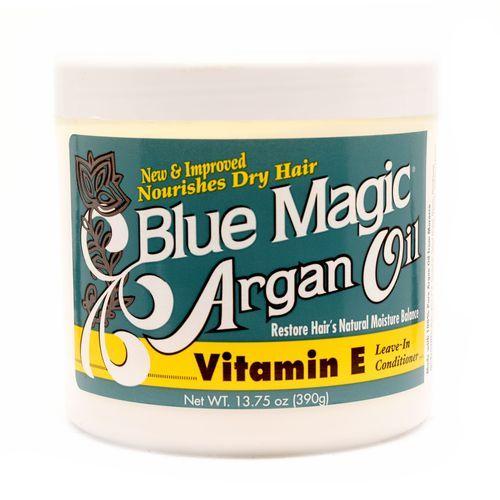 Blue Magic Argan Oil Vitamin E Leave-In Conditioner - 13.75oz