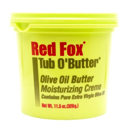 Red Fox Tub O'Butter Olive Oil Butter Moisturizing Creme - 326g