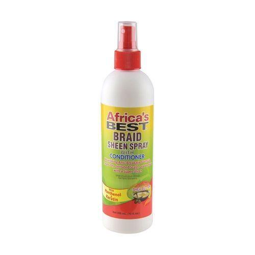 Africa's Best Braid Sheen Spray - 355ml