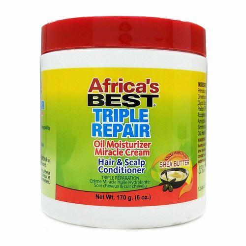 Africa's Best Triple Repair Oil Moisturizer Miracle Cream 5.25oz