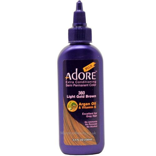 Adore Extra Conditioning Hair Colour - Light Gold Brown