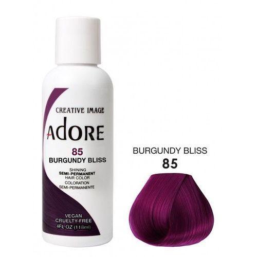 Adore Semi Permanent Hair Colour - Burgundy Bliss