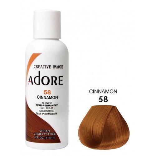 Adore Semi Permanent Hair Colour - Cinnamon