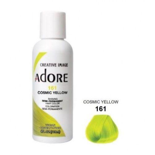 Adore Semi Permanent Hair Colour - Cosmic Yellow