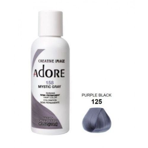Adore Semi Permanent Hair Colour - Mystic Gray