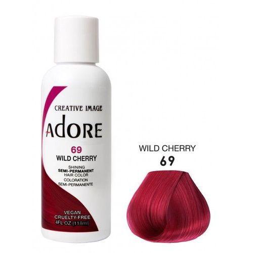 Adore Semi Permanent Hair Colour - Wild Cherry