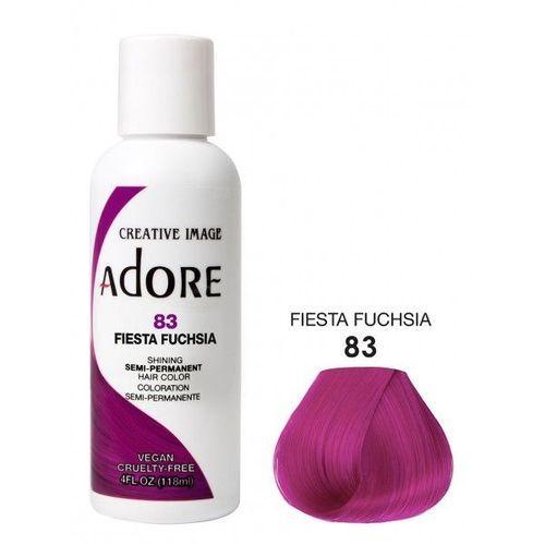 Adore Semi Permanent Hair Colour - Fiesta Fuchsia