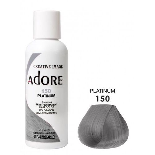 Adore Semi Permanent Hair Colour - Platinum