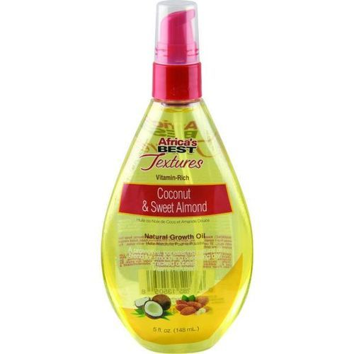 Africa's Best Textures Coconut & Sweet Almond Natural Growth Oil - 148ml