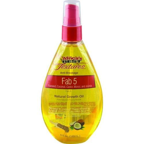 Africa's Best Textures Fab 5 Natural Growth Oil - 148ml